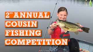 S3:E4 2nd Annual Cousin Fishing Competition   Kids Outdoors