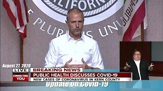 Kern County Health Department Coronavirus Update: August 27, 2020