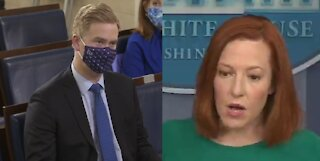 Stammering Psaki Reluctantly Admits Biden Still Building Parts of Border Wall