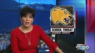 Marana student arrested for threat