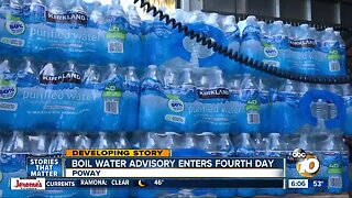 Boil water advisory in Poway enters fourth day