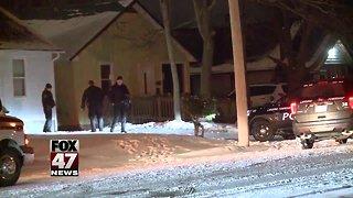 Police investigation in Lansing Township