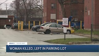 Woman found dead in Cleveland parking lot, police investigating