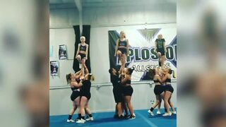 Jamestown cheer studio a finalist for national gym makeover competition
