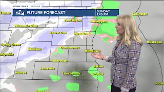 Sunshine, with highs in the 30s for Saturday