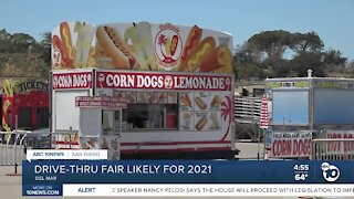 Drive-thru fair likely for 2021