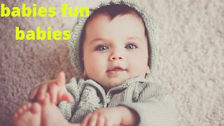 Funny Fails baby video clips    cute baby fall down video clips!