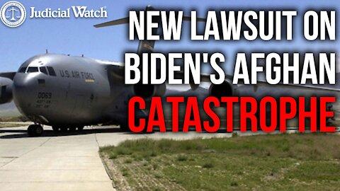 AFGHANISTAN BREAKING NEWS: Lawsuit for Biden Surrender Evidence!