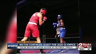Tulsa Native Continues Quest for 2020 Boxing Olympics