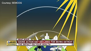 Ozone Action Day declared once again for metro Detroit