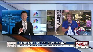 Backpack and School Supply Drive
