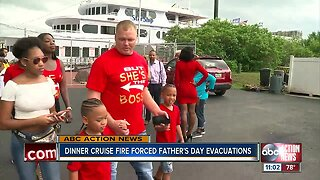 Dinner cruise fire forces evacuation