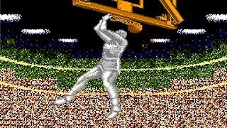 Double Dribble 1987 NES (Gameplay)