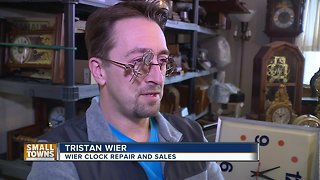 Small Towns: Algoma's watch and clock repair man