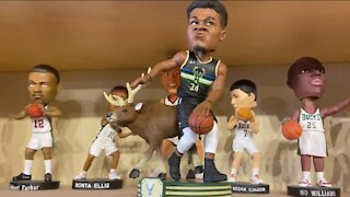 Local museum unveils limited edition Giannis Antetokounmpo bobbleheads for fans to buy