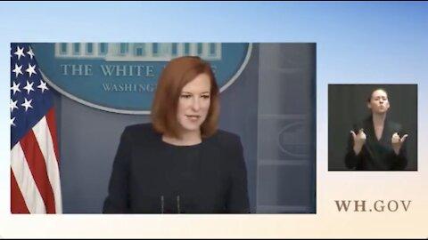 Jenn Psaki Calls For Civil War