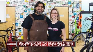 Gov. Gretchen Whitmer issues stay-at-home order that goes into effect at midnight