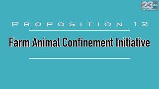 Proposition 12: Farm Animal Confinement Initiative