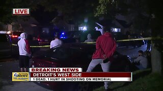 1 dead, 1 hurt in shooting on Detroit's west side