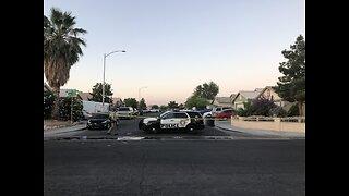 Police presence at Las Vegas valley neighborhood