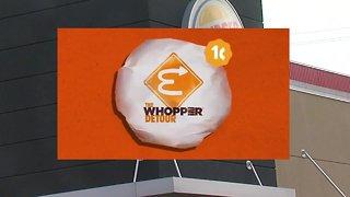 Burger King 1 cent Whopper TEST