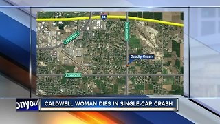 Caldwell woman killed in early morning crash
