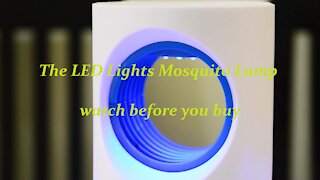 The LED Lights Mosquito Lamp watch before you buy