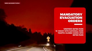 Mandatory evacuation orders for East Troublesome Fire