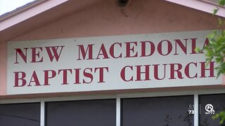 Local church holds drive-in service, distributes meals