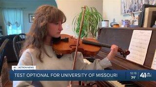 University of Missouri System temporarily going test optional