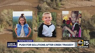 Push for solutions after Tonto Basin Creek tragedy