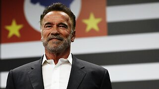 Arnold Schwarzenegger Gets Attacked During Sporting Event