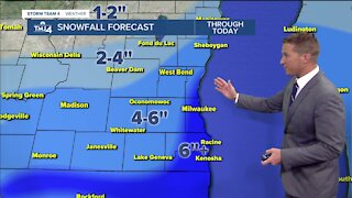 Storm brings several inches of snow to SE Wisconsin