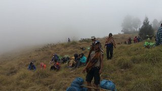 Hundreds Of People Rescued From Volcano In Indonesia After Earthquake