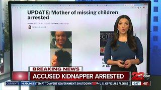 Mother of missing children arrested