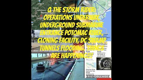 Q The Storm Rider: Operations happening, DC Swamp & tunnels flooding