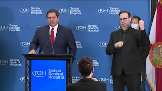 WEB EXTRA: First shipments of COVID-19 vaccine arrive in Florida, Gov. Ron DeSantis says
