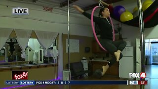 Aerial fitness in Bonita Springs 7 a.m.