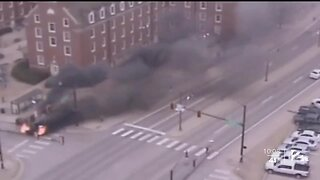 OSU Employee Saves Man From Burning Truck