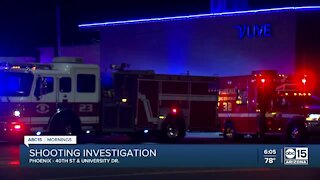 Phoenix police investigating shooting near 40th Street and University