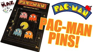 Pac Man Lapel Pins Unboxing