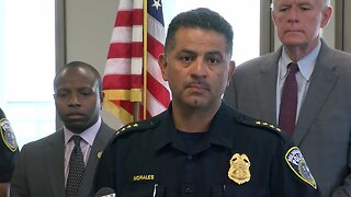 Milwaukee Police Department hold news conference on Officer Kou Her's death