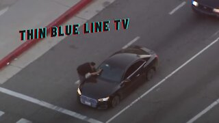Driver Takes Police On Chase Through San Fernando Valley In a Stolen Audi A5
