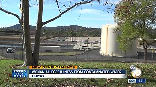 Woman alleges illness from Poway water