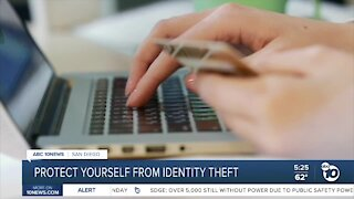 Protect yourself from identity theft during the holidays