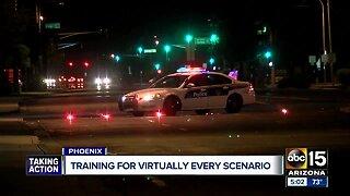Suspect dead, officer hit by gunfire in downtown Phoenix