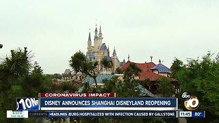 Disney announces Shanghai Disneyland reopening