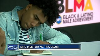 MPS kicks off Black and Latino Male Achievement mentorship program