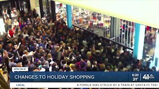 Changes to holiday shopping