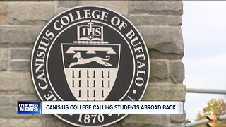 """""""Return home immediately"""" Canisius College implores students studying abroad amid Coronavirus fears"""